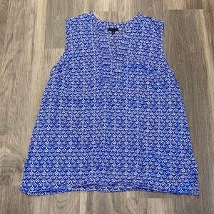 Talbots V-neck Blouse (Women's XL)